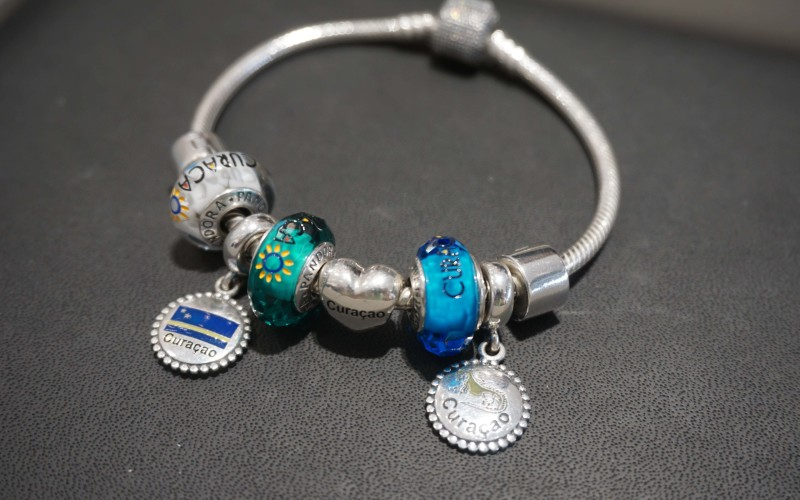 The official unveiling of unique PANDORA charms with the Curacao